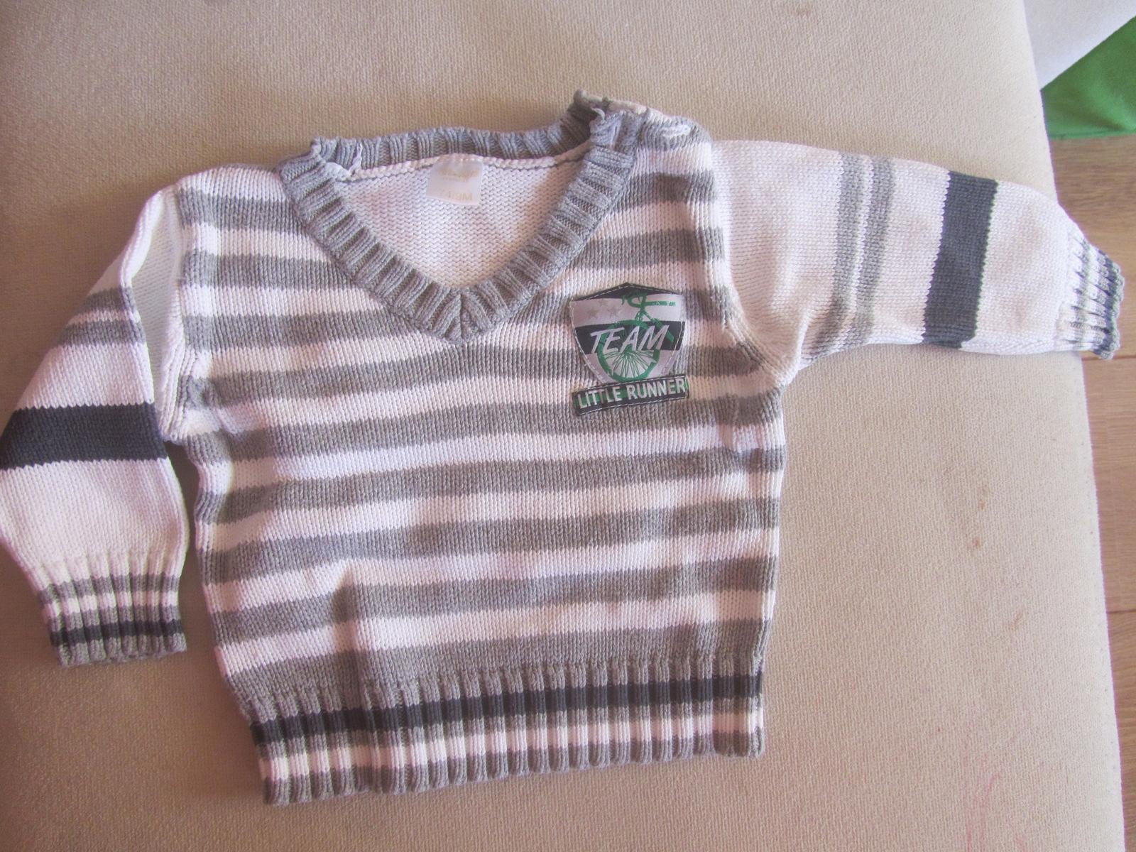 Biely pulover Dixxie 74 - Obrázok č. 1