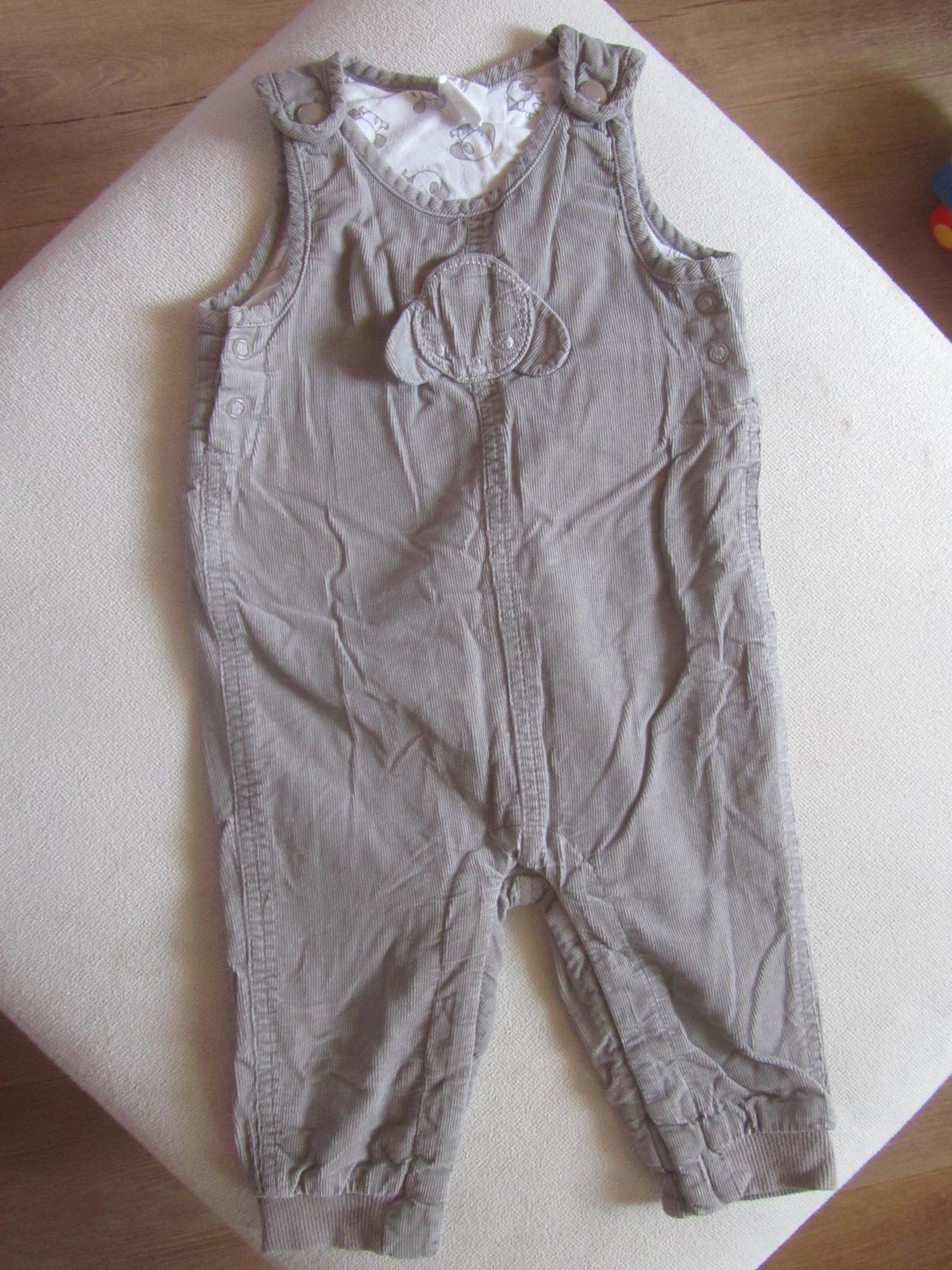 Zateplene mencestrove nohavice H&M 68 - Obrázok č. 1