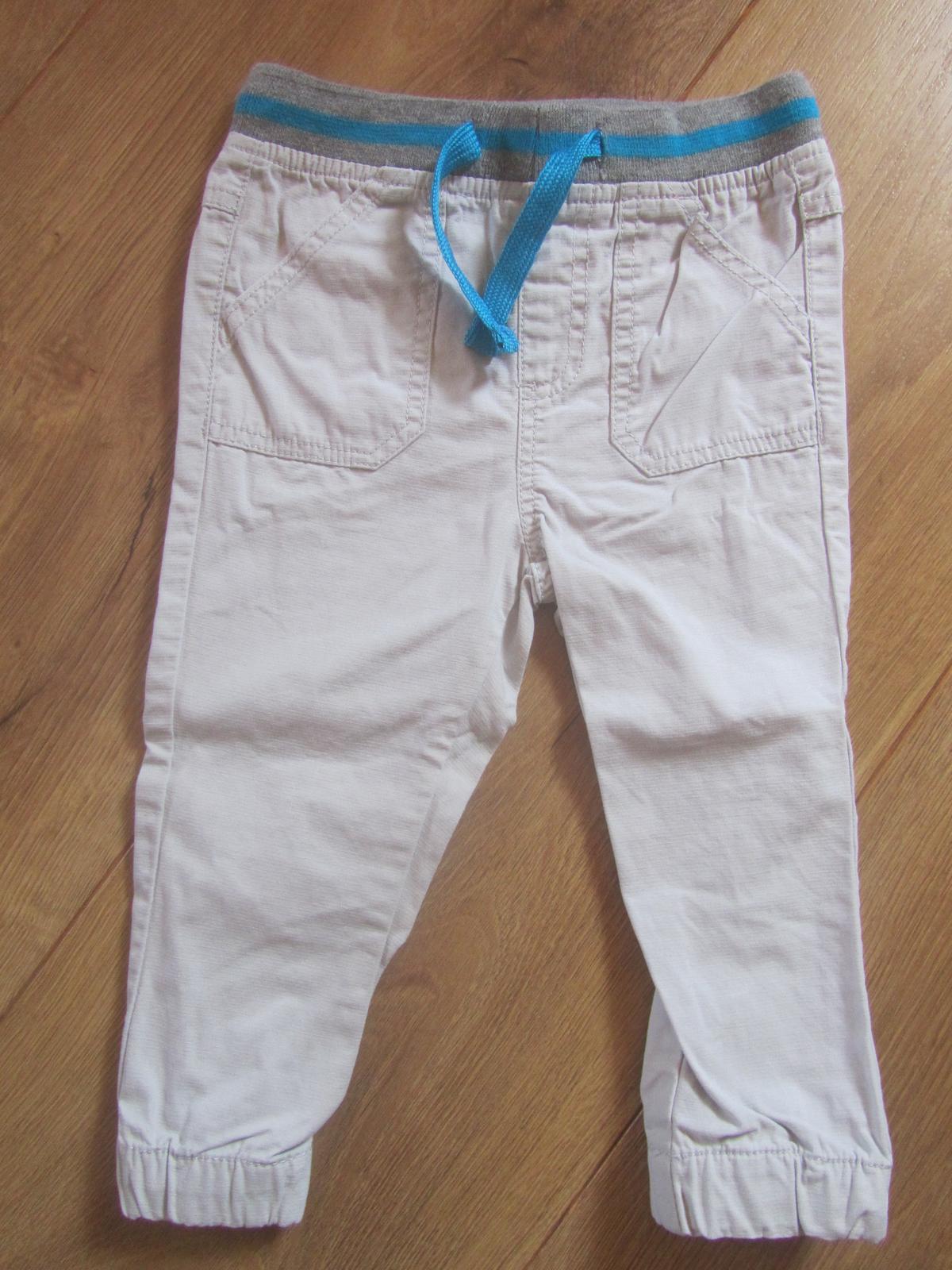 Kremove nohavice Pepco 92 nenosene - Obrázok č. 1