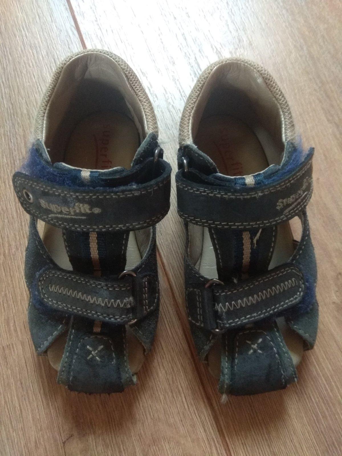 Kozene sandalky SuperFit 24 - Obrázok č. 1