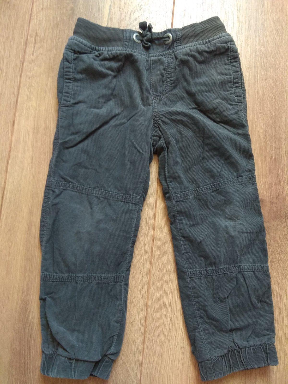 Zateplene mencestrove nohavice 92-98 - Obrázok č. 1