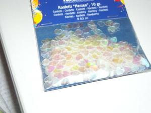 konfety na stoly