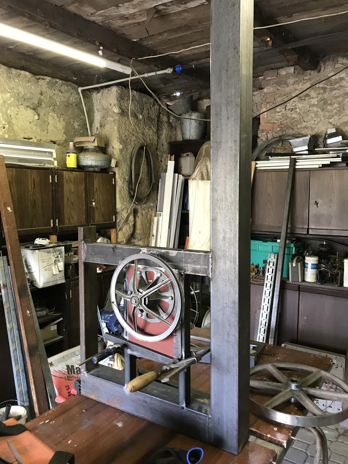 Výroba pásové pily na Ytong - Obrázek č. 3