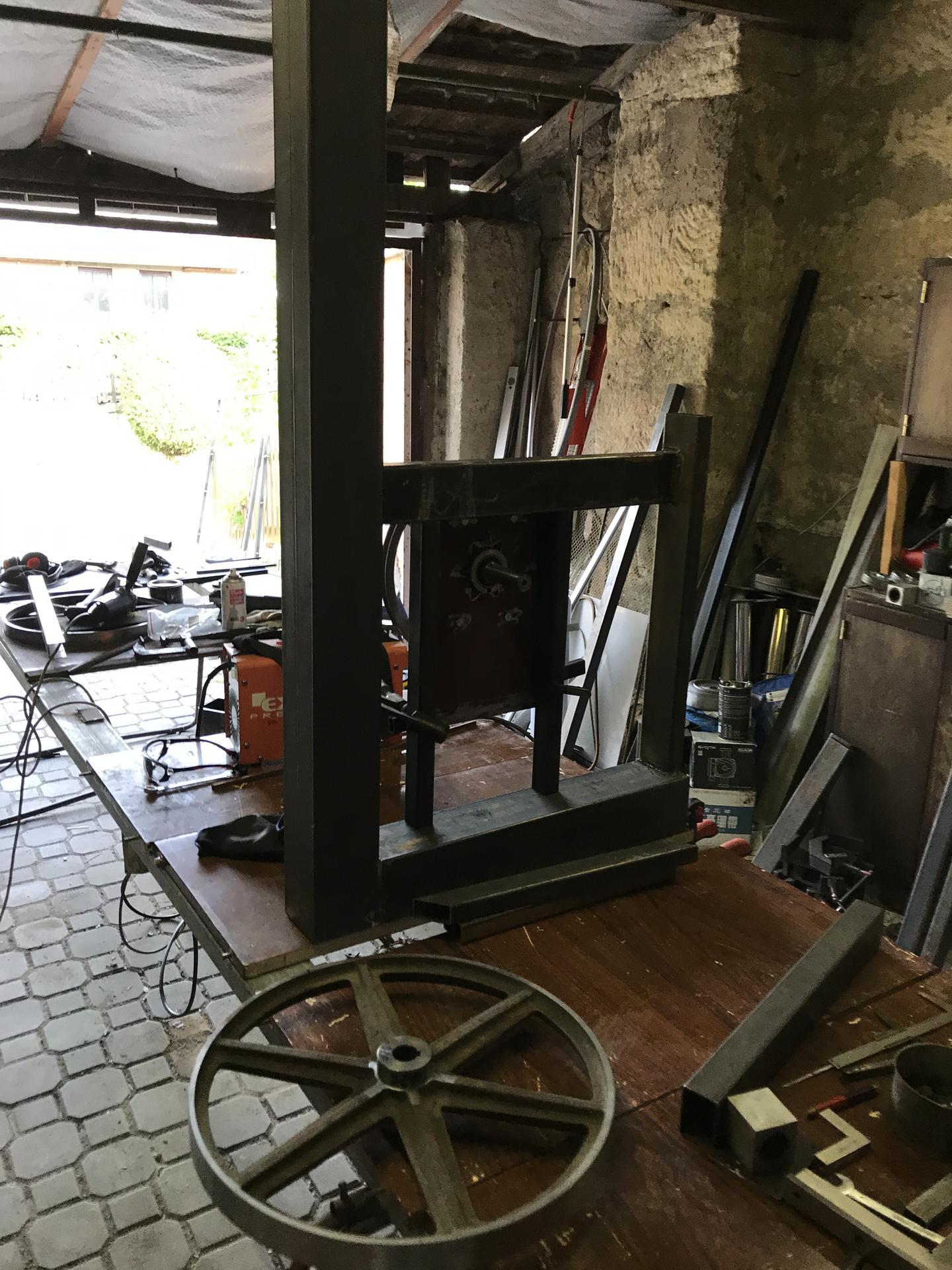 Výroba pásové pily na Ytong - Obrázek č. 4