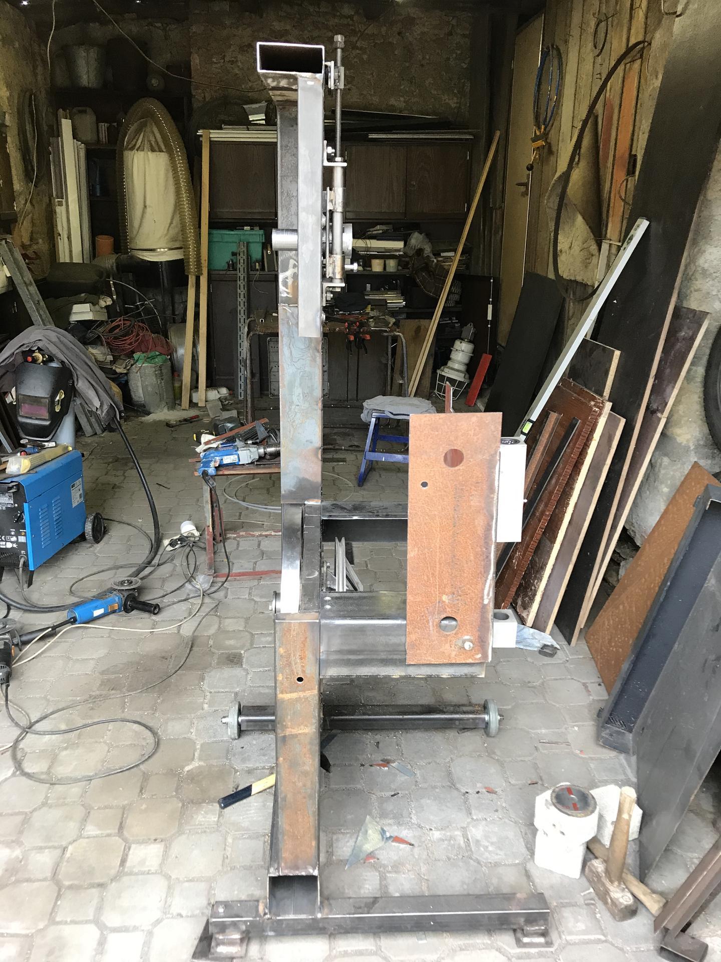 Výroba pásové pily na Ytong - Obrázek č. 8