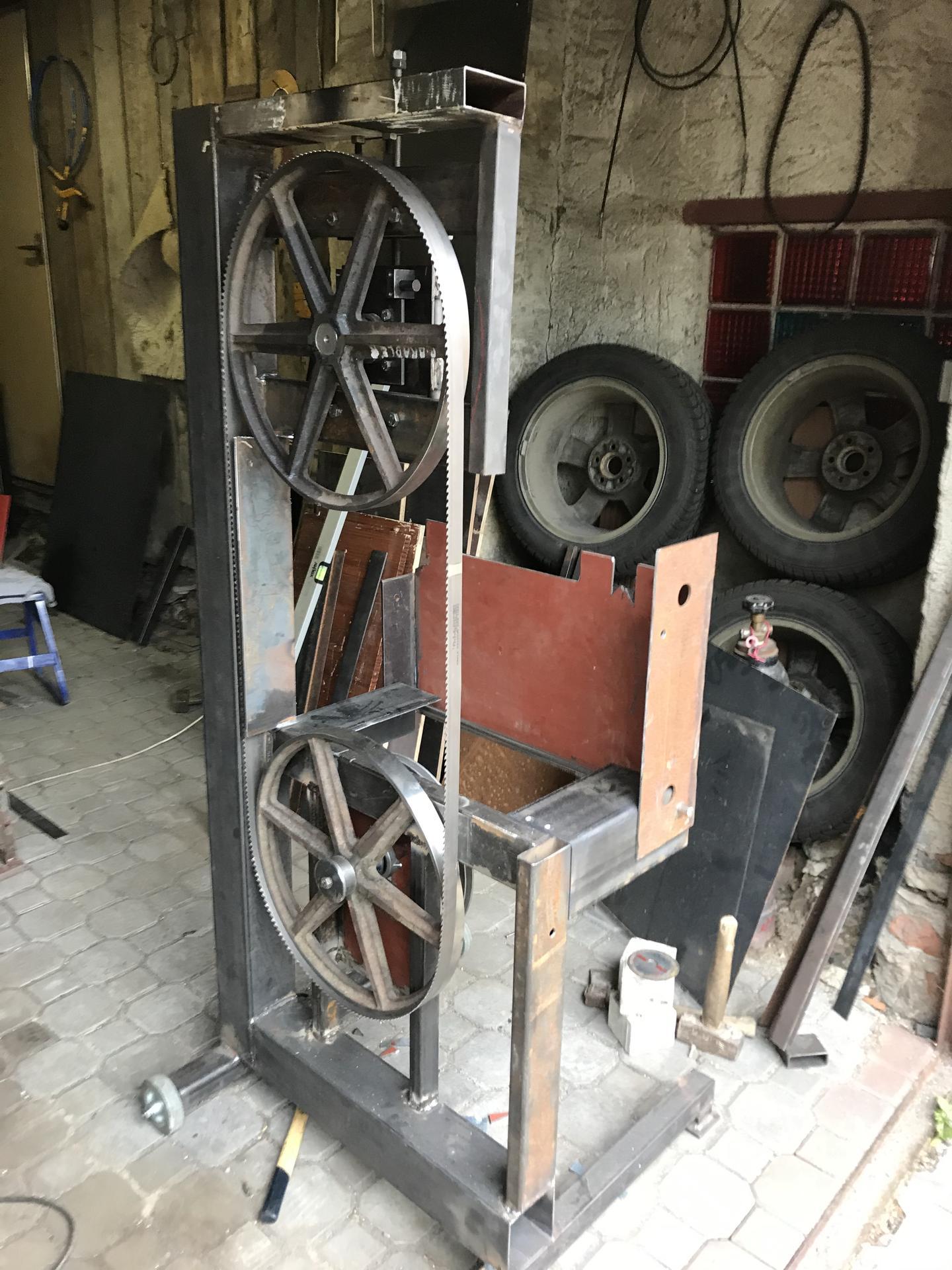 Výroba pásové pily na Ytong - Obrázek č. 10