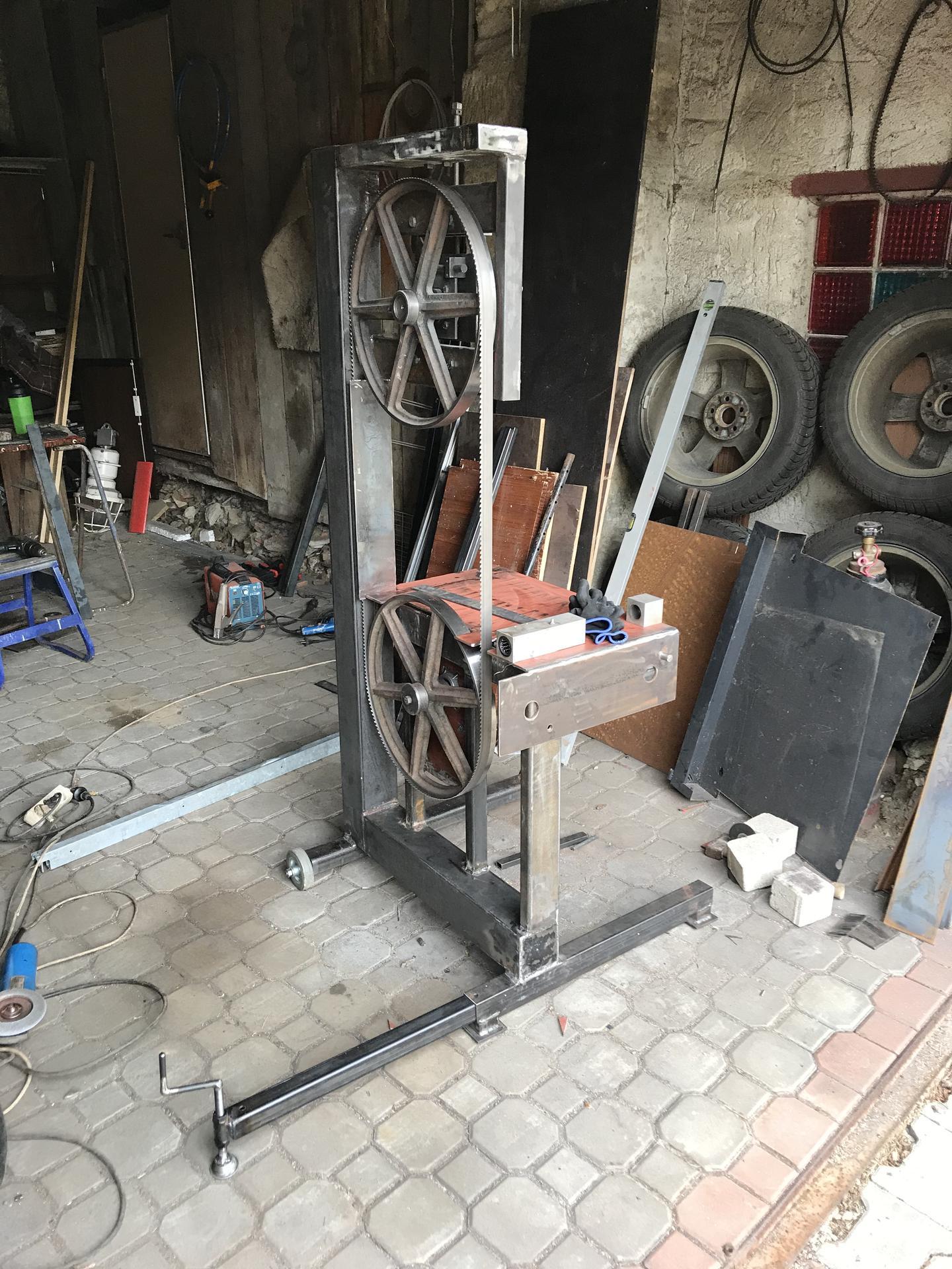 Výroba pásové pily na Ytong - Obrázek č. 13