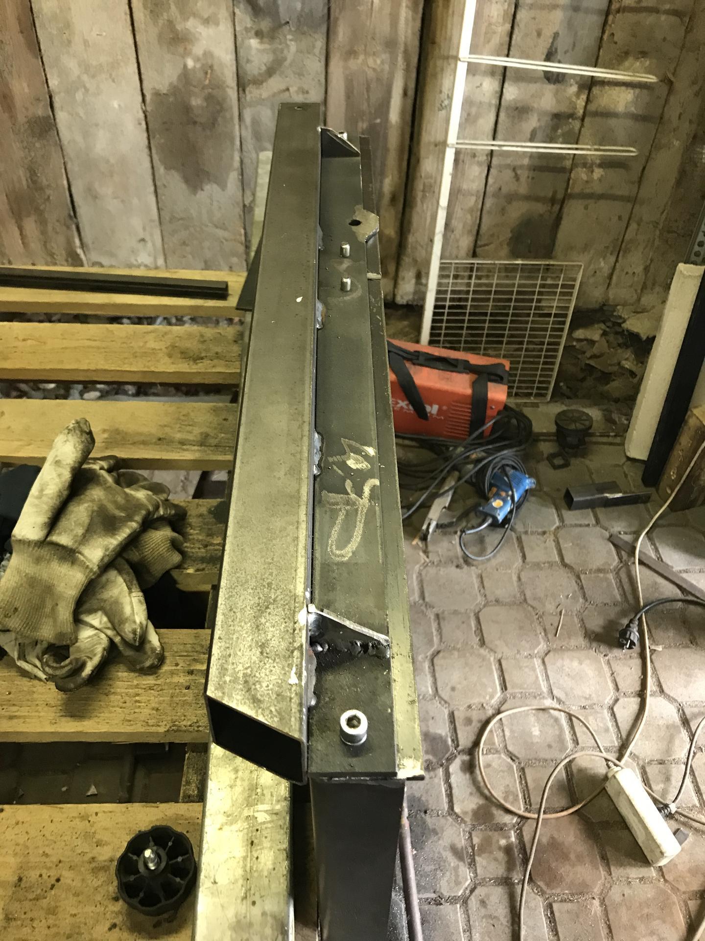 Výroba pásové pily na Ytong - Obrázek č. 16