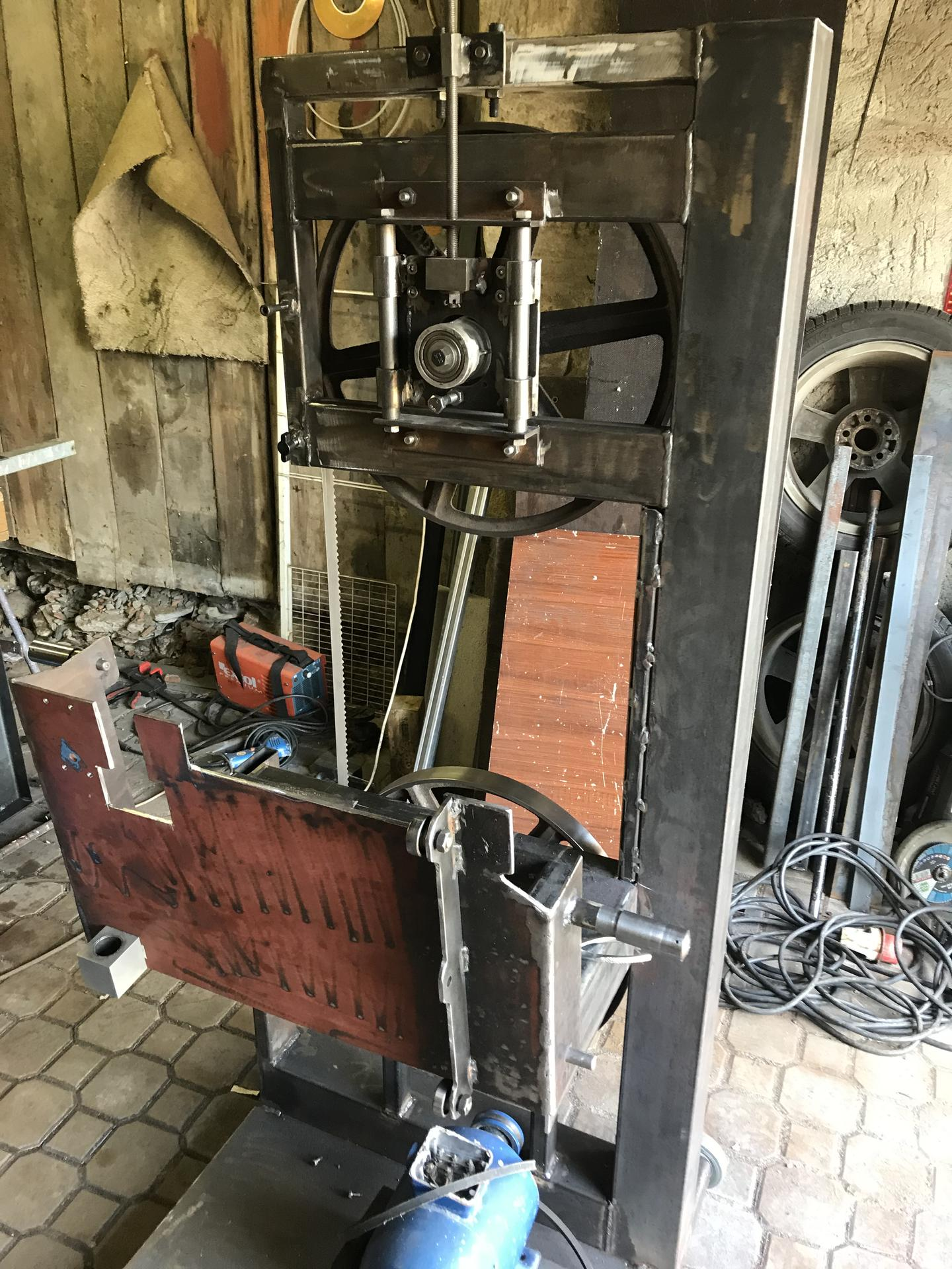 Výroba pásové pily na Ytong - Obrázek č. 17