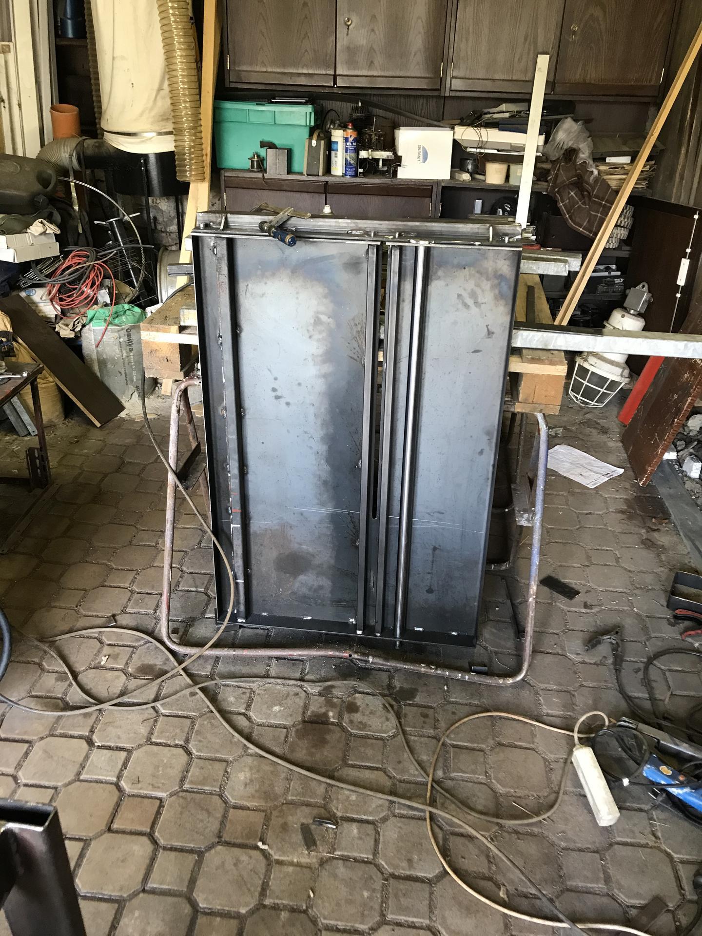 Výroba pásové pily na Ytong - Obrázek č. 18