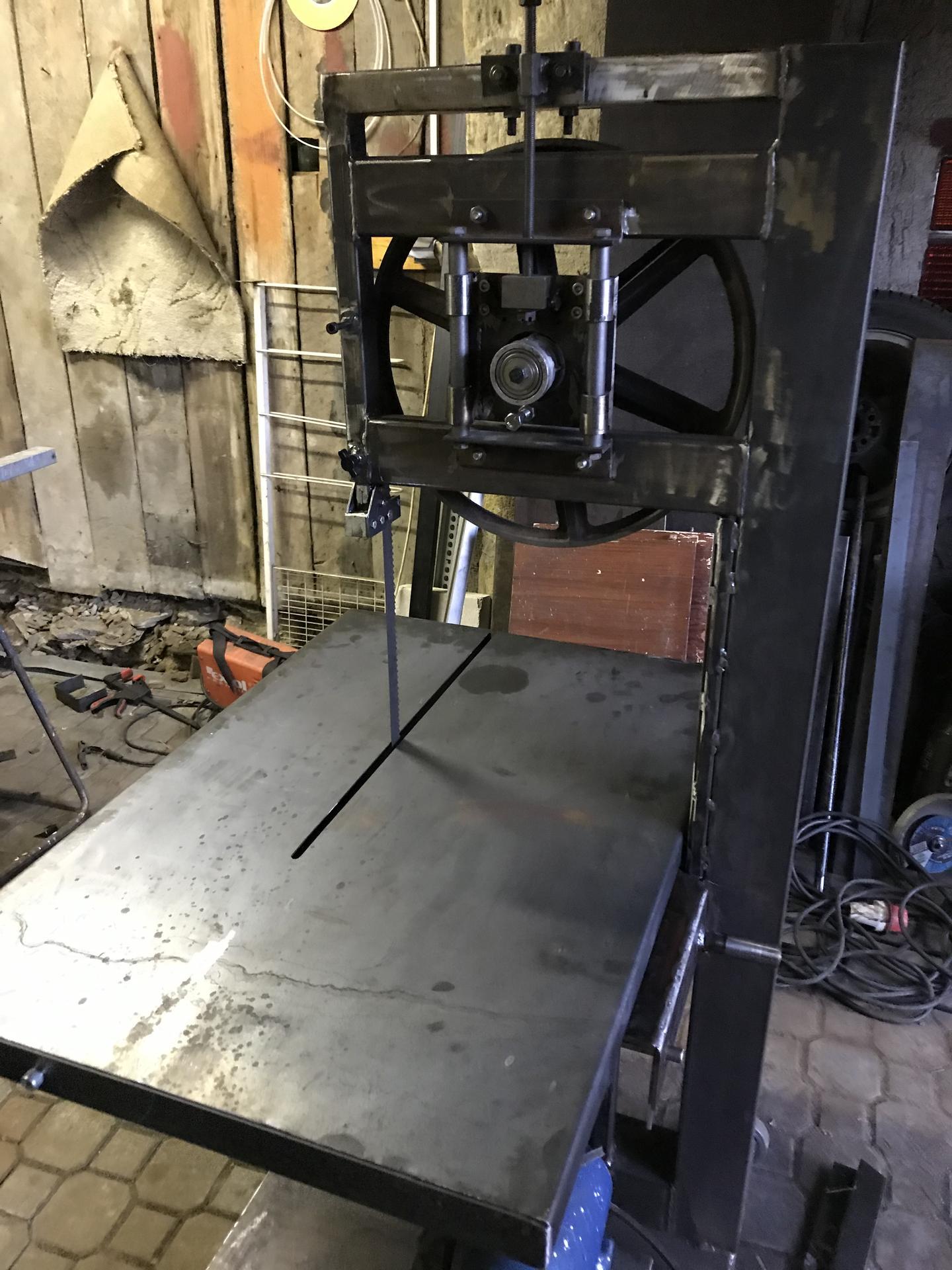 Výroba pásové pily na Ytong - Obrázek č. 19