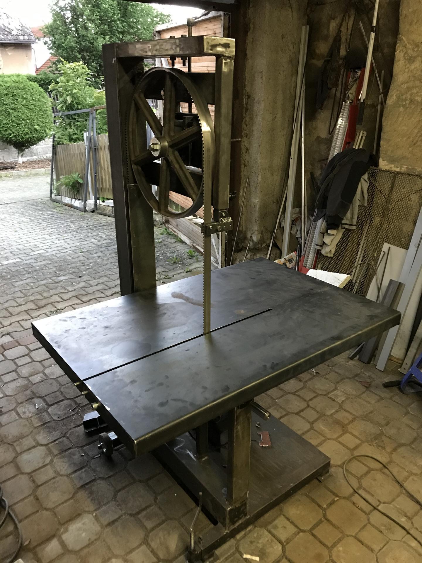 Výroba pásové pily na Ytong - Obrázek č. 21