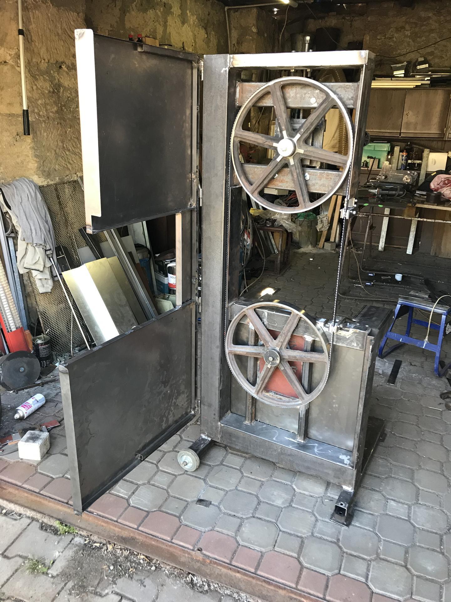 Výroba pásové pily na Ytong - Obrázek č. 23