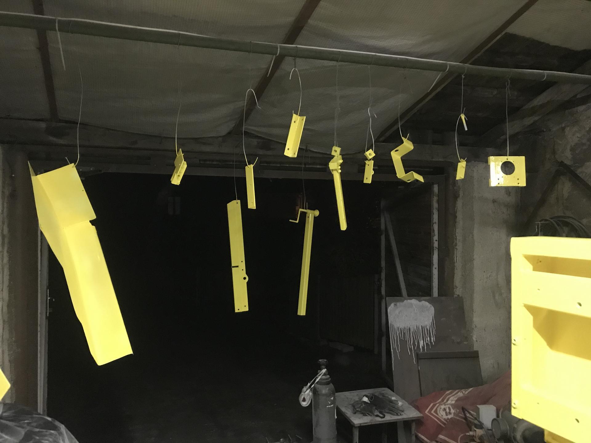 Výroba pásové pily na Ytong - Obrázek č. 34