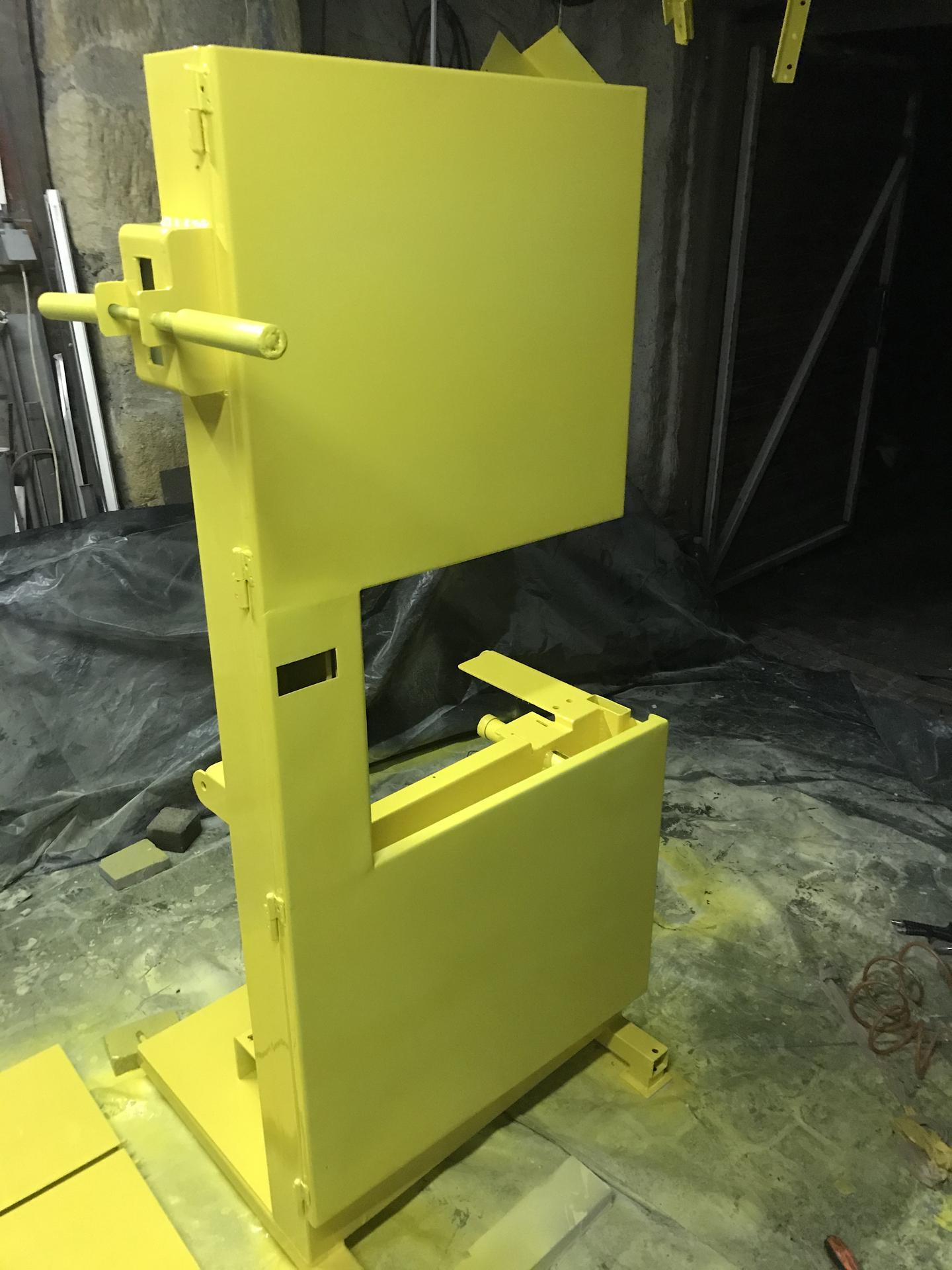 Výroba pásové pily na Ytong - Obrázek č. 35