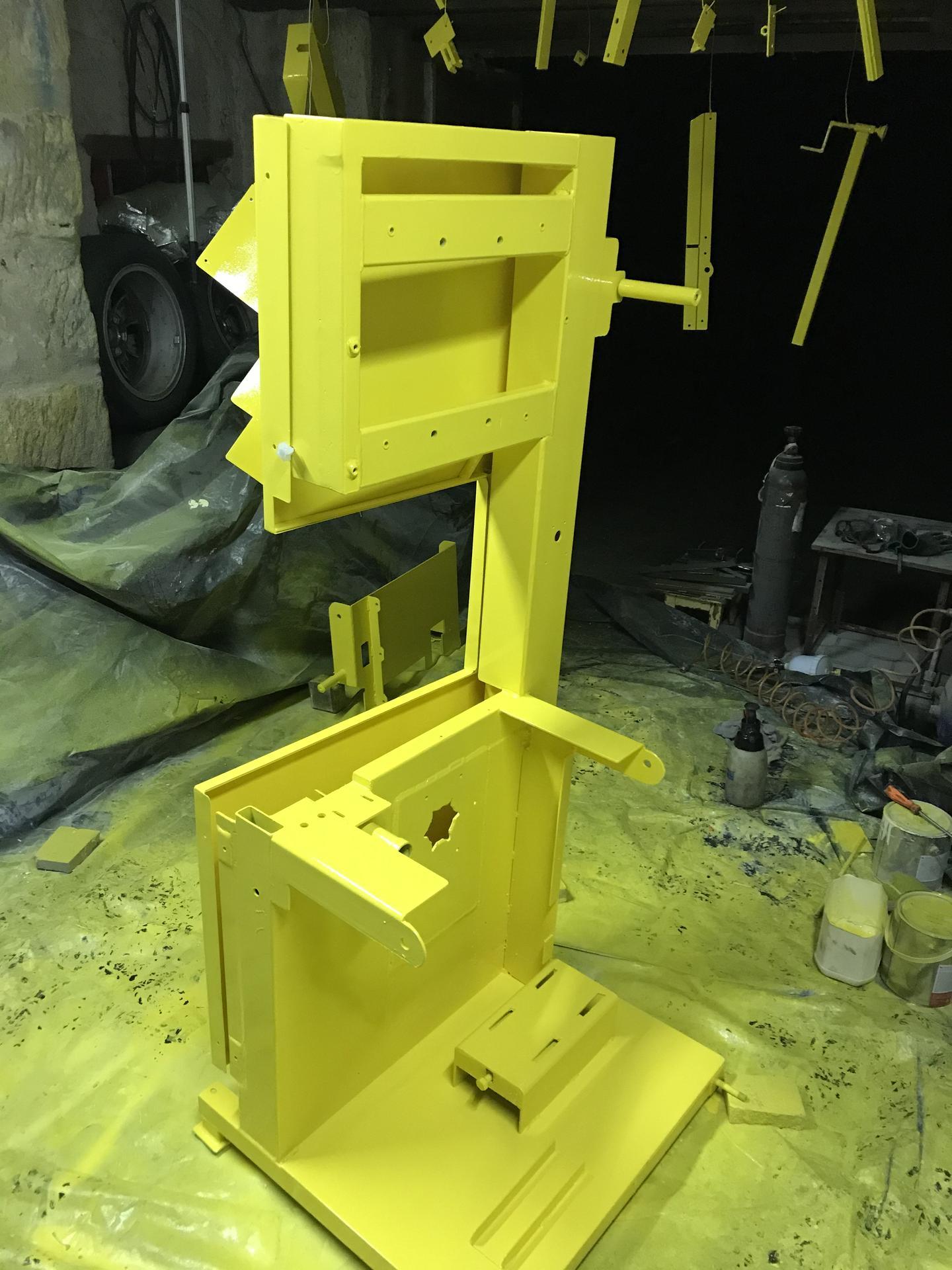 Výroba pásové pily na Ytong - Obrázek č. 42