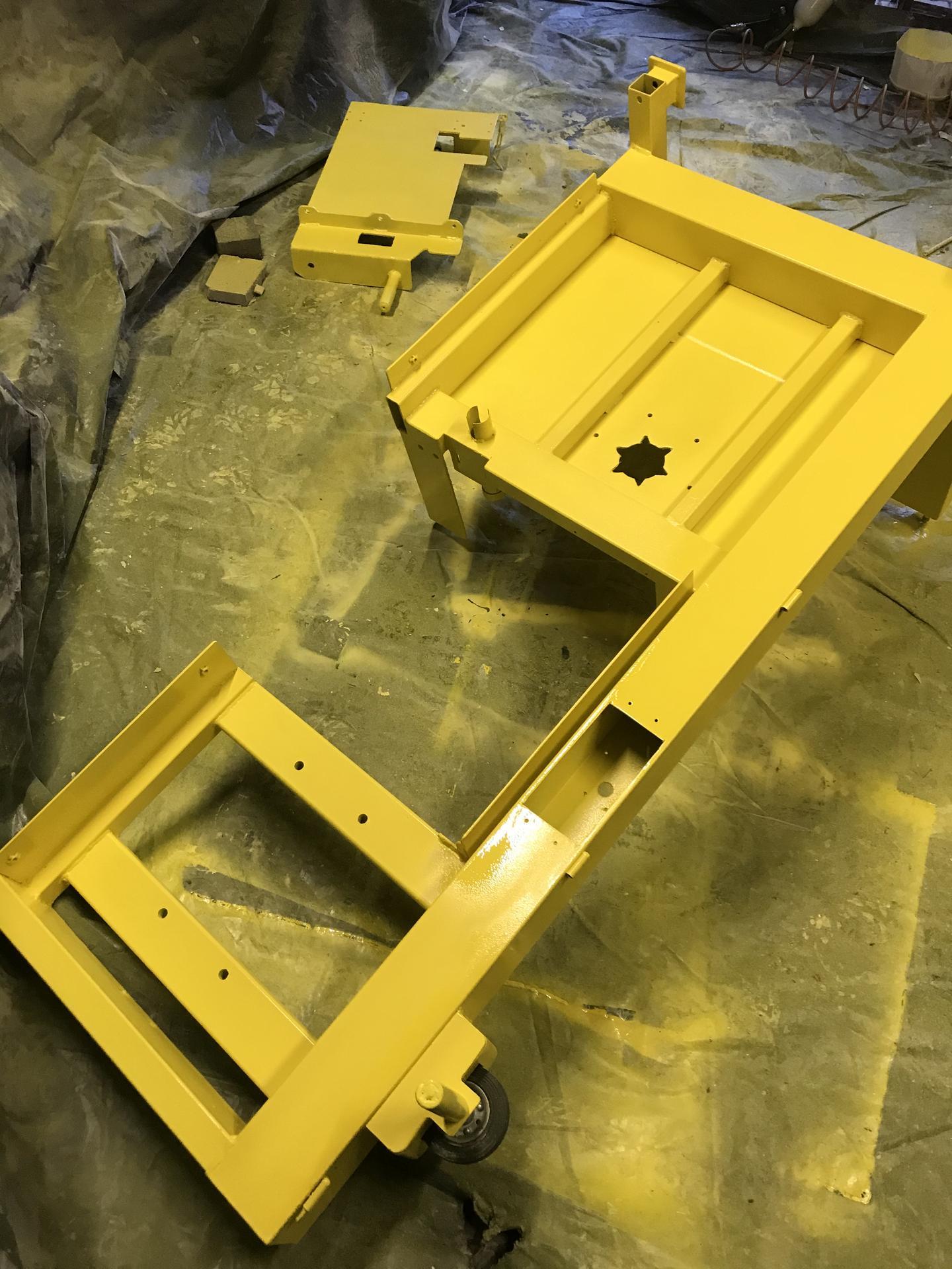 Výroba pásové pily na Ytong - Obrázek č. 39