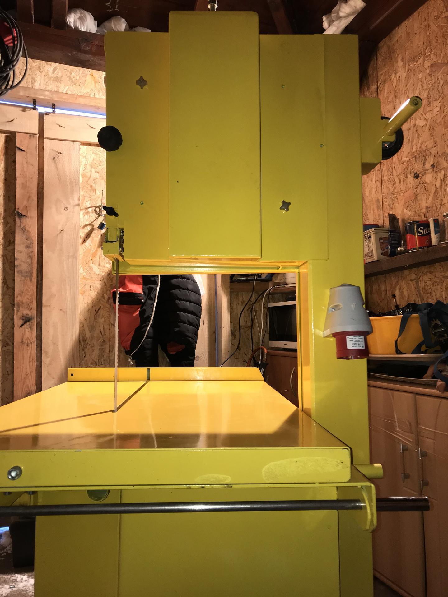Výroba pásové pily na Ytong - Obrázek č. 48