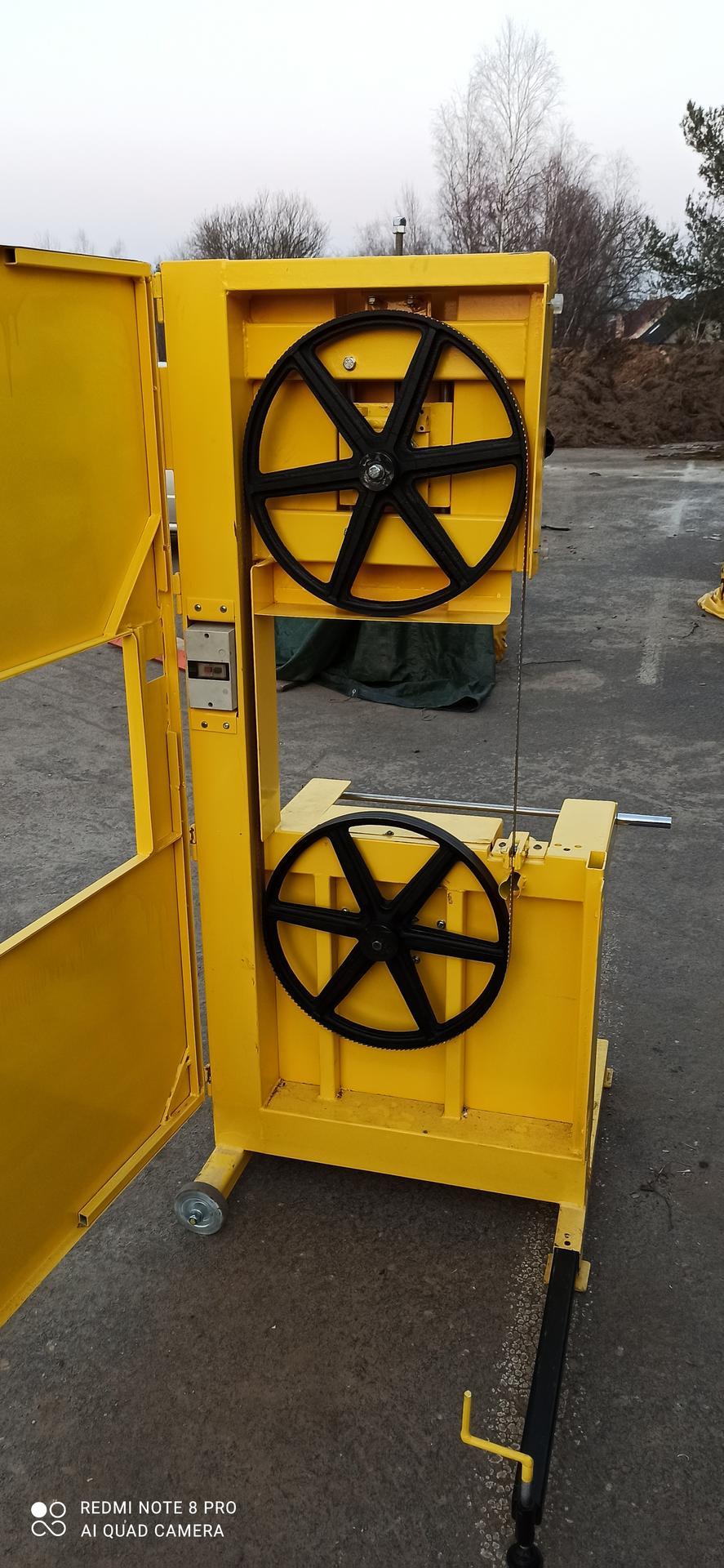 Výroba pásové pily na Ytong - Obrázek č. 52