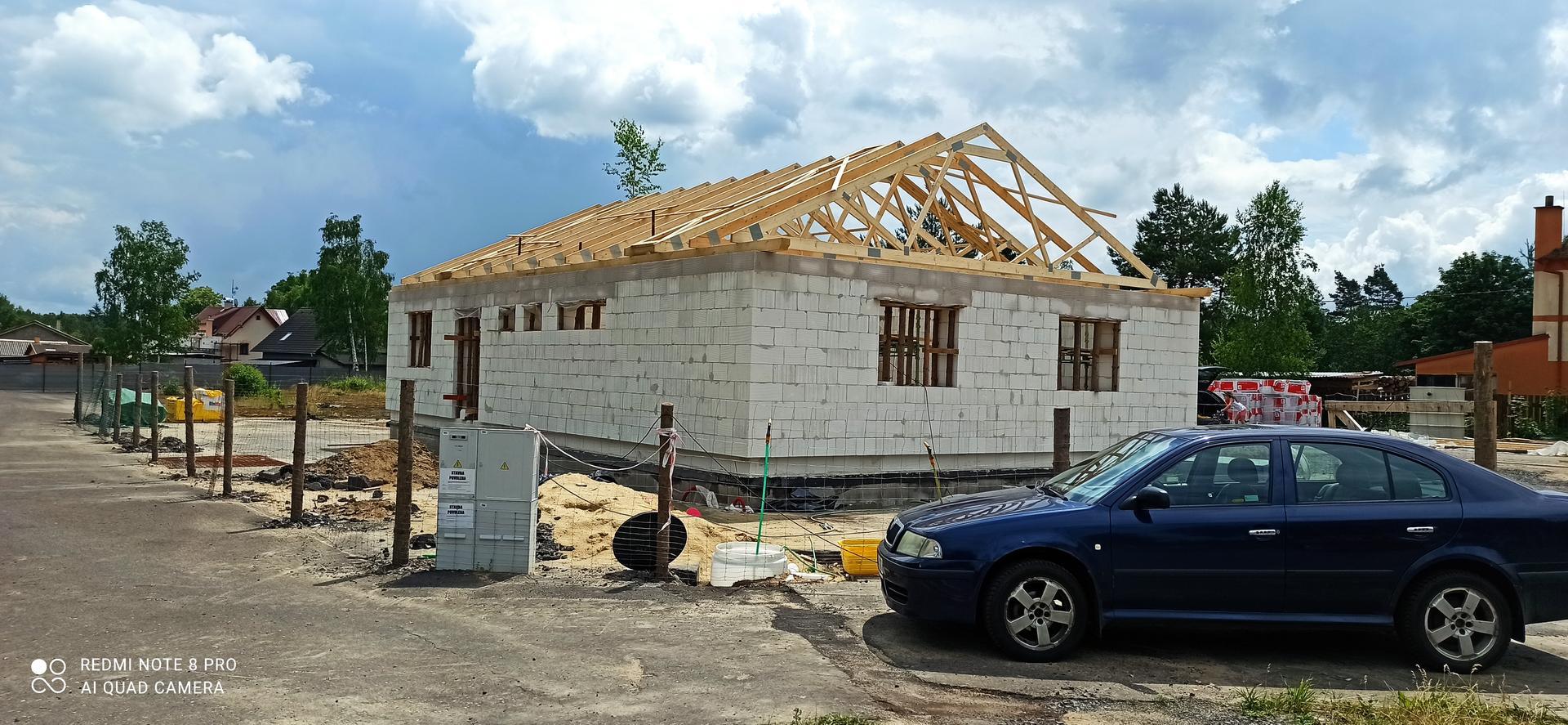 Střecha - A finálka s glajchou :-D