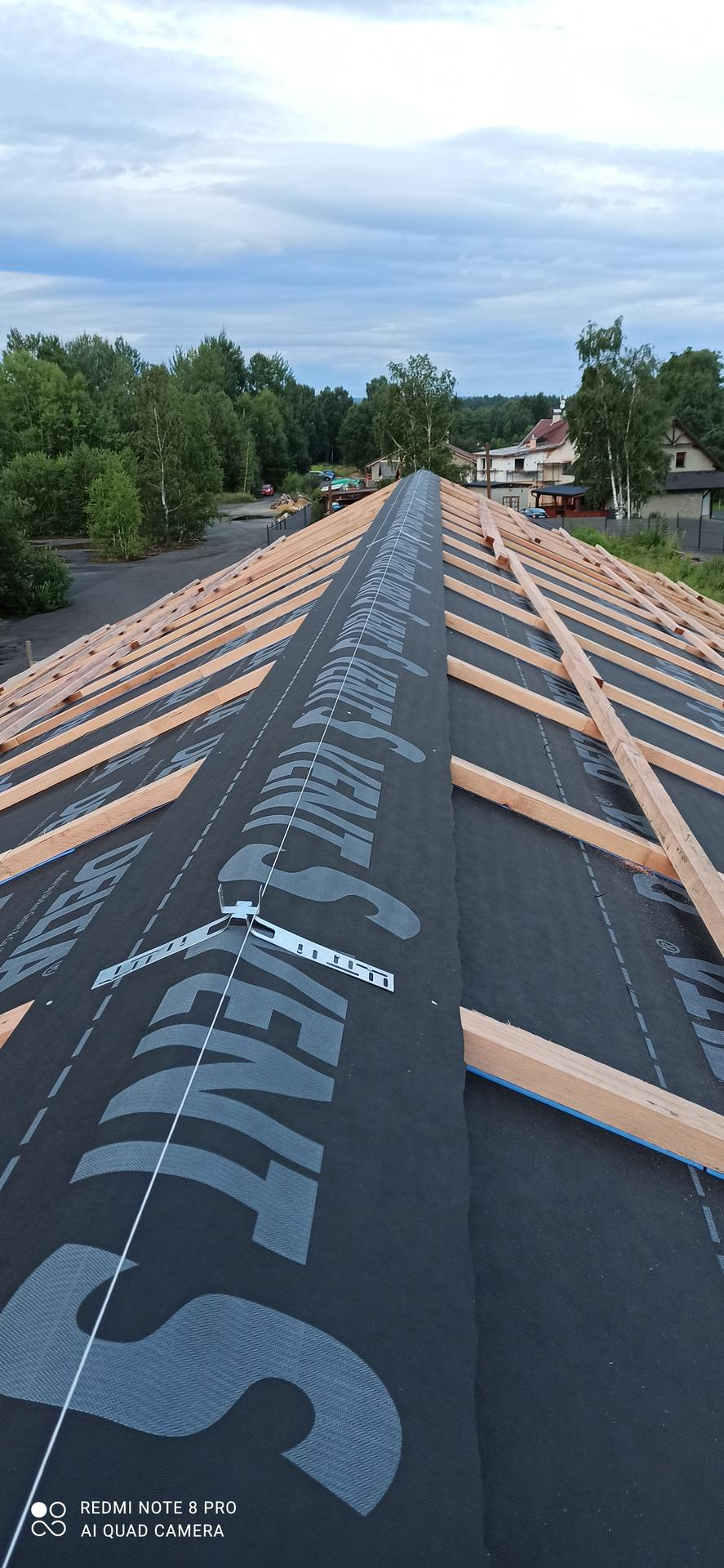 Střecha - Odvětrávaný hřeben