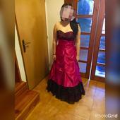 Korzetové dlhé šaty, 40