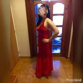 Dlhé šaty okolo krku, 40