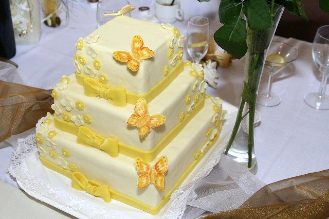 Katarína Albertová{{_AND_}}Erik Mesároš - svadobná torta