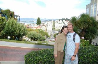 Svatebni cesta San Francisco