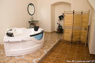 koupelna novomanželského apartmá