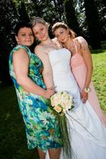 Tyhle holky mě provázely celýma přípravama i svatebním dnem. MOC DĚKUJI!