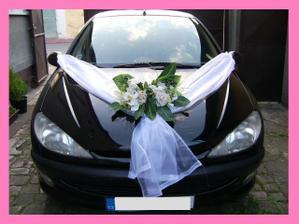 výzdoba pro nevěstu - jen bude na jiném autíčku