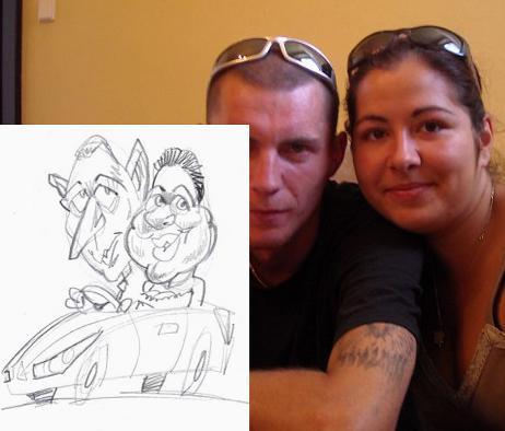 Satanik a Diablica - NO tak toto karikaturistovi nejak nevyslo.....