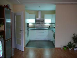 kuchyň z dálky