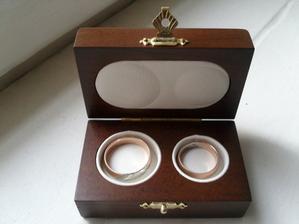 Snubní prsteny - už jsou doma