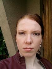 1. zkouška makeupu