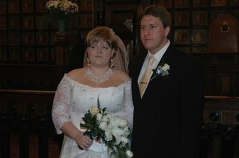 tak už jsme novomanželé, můžete začít gratulovat :)