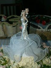 Detail svatebních figurek