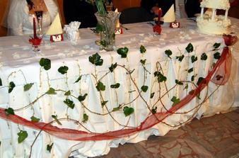 náš stôl...zblízka