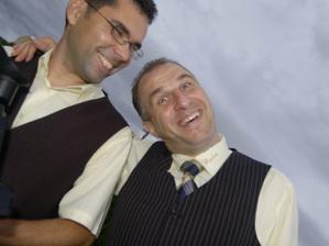 dvaja blázni - kameraman a starejší :)
