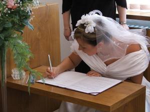 nevěsta :-)