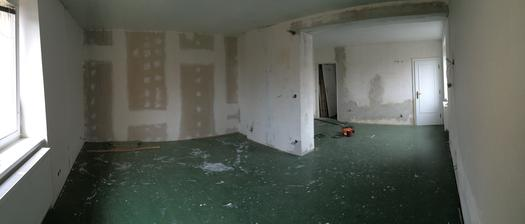 nový pokojíček bude tady v 1.patře