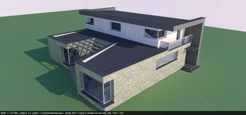 ...tak som dnes skusil navrhnúť podobu našho buduceho domu. Čo poviete, da sa na to pozerať?
