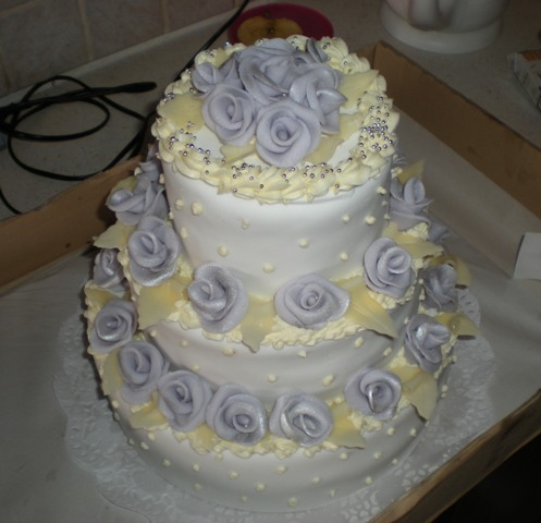 Erika a Vladko 8 máj - Naša tortička