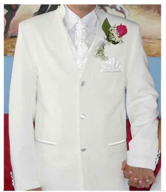 Bejka a Stanušik@ - Takýto oblek by chcel môj drahý, len zohnať bielu látku...(ospravedlňujem sa za kopírovanie)