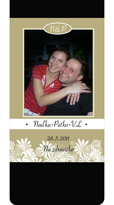 Nadka a Petko 28.5.2011 - a takto bude vyzerat ta nasa. tesiiim.