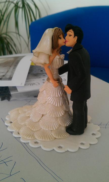 Nase postavicky na tortu. :)