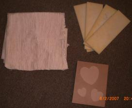 začiatok výroby svadobnej knihy...