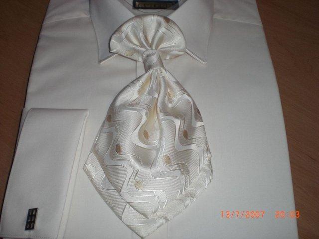 L&T - košeľa, kravata, manžetové gombíky
