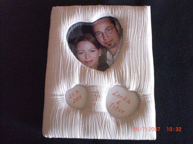 L&T - dokončená svadobná kniha